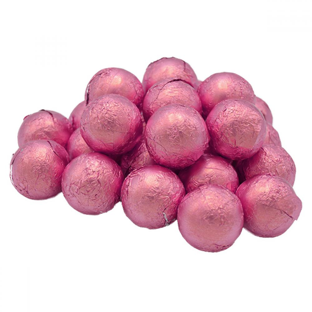 SALE  Lessiters Pink Foiled White Champagne Truffles 4kg