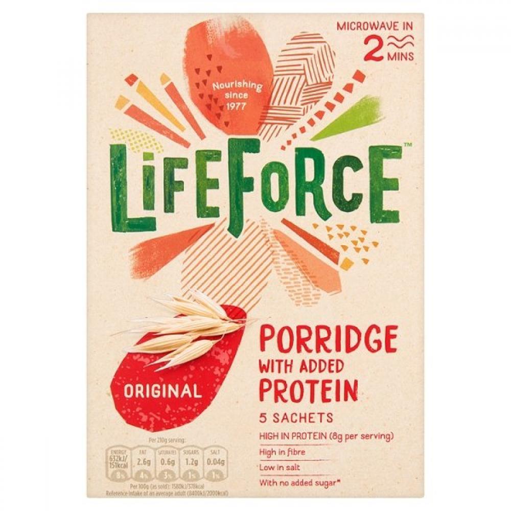 Lifeforce Porridge With Added Protein 200g