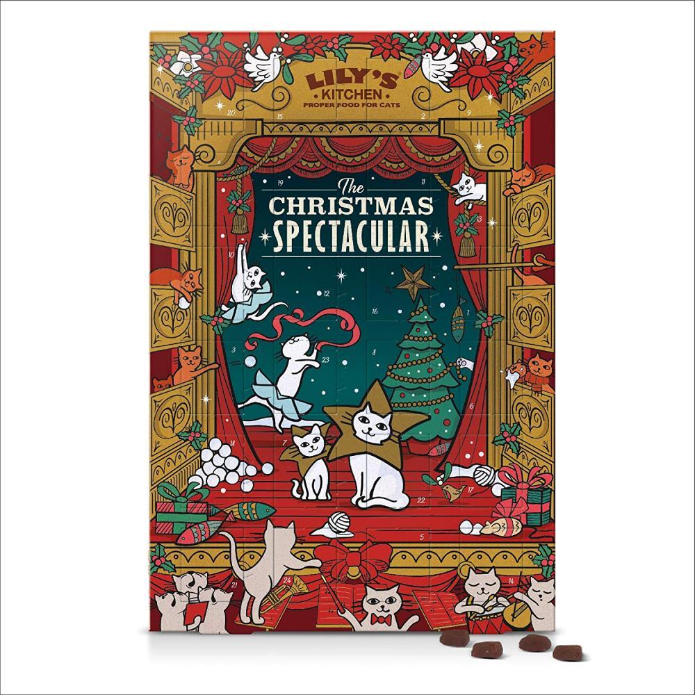 Lilys Kitchen Christmas Spectacular Advent Calendar Cat 42 g