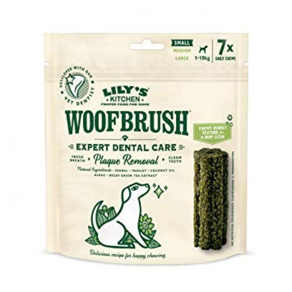 Lilys Kitchen Woofbrush Dental Chew Small Dog 154g