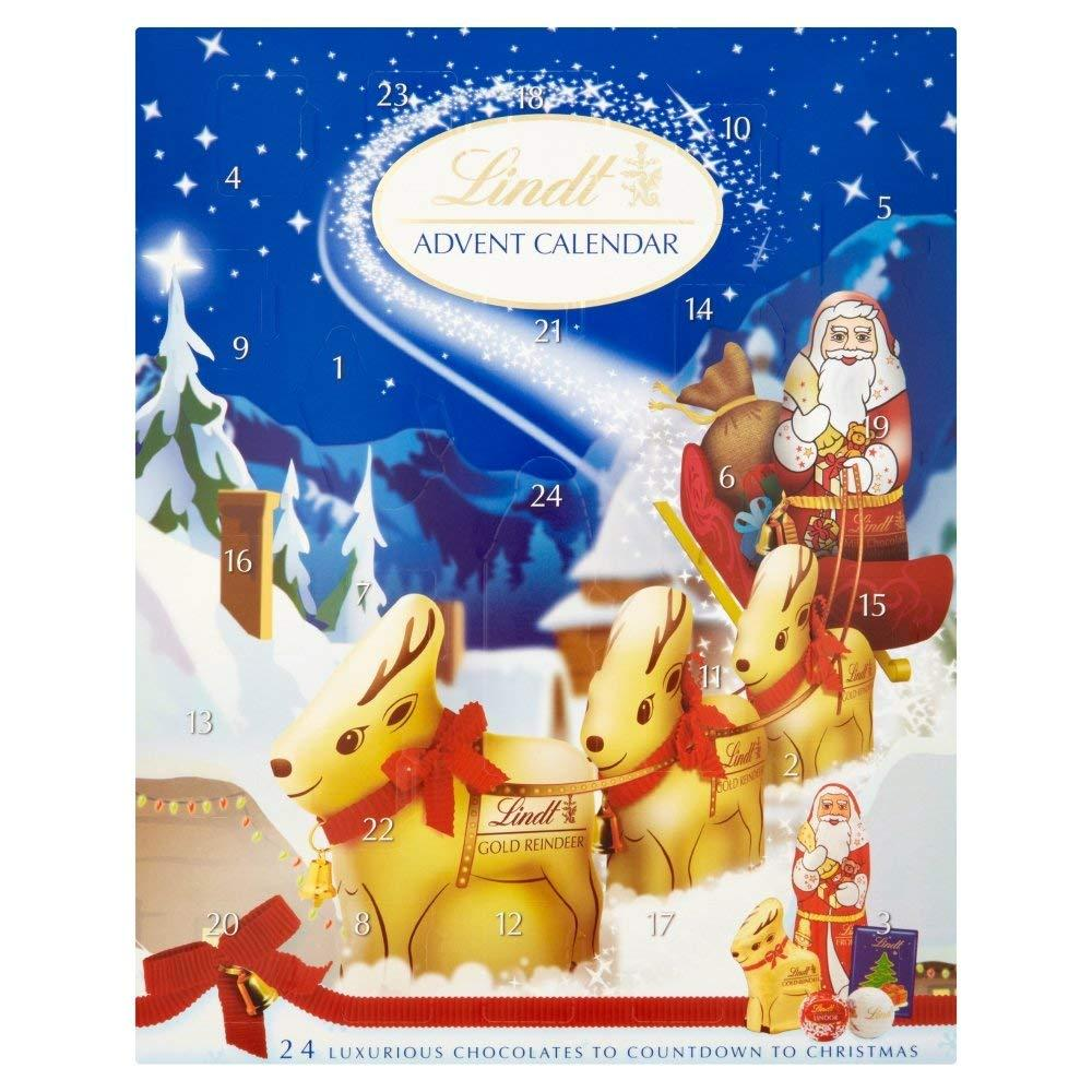 Lindt Advent Calendar Milk Chocolate 160g