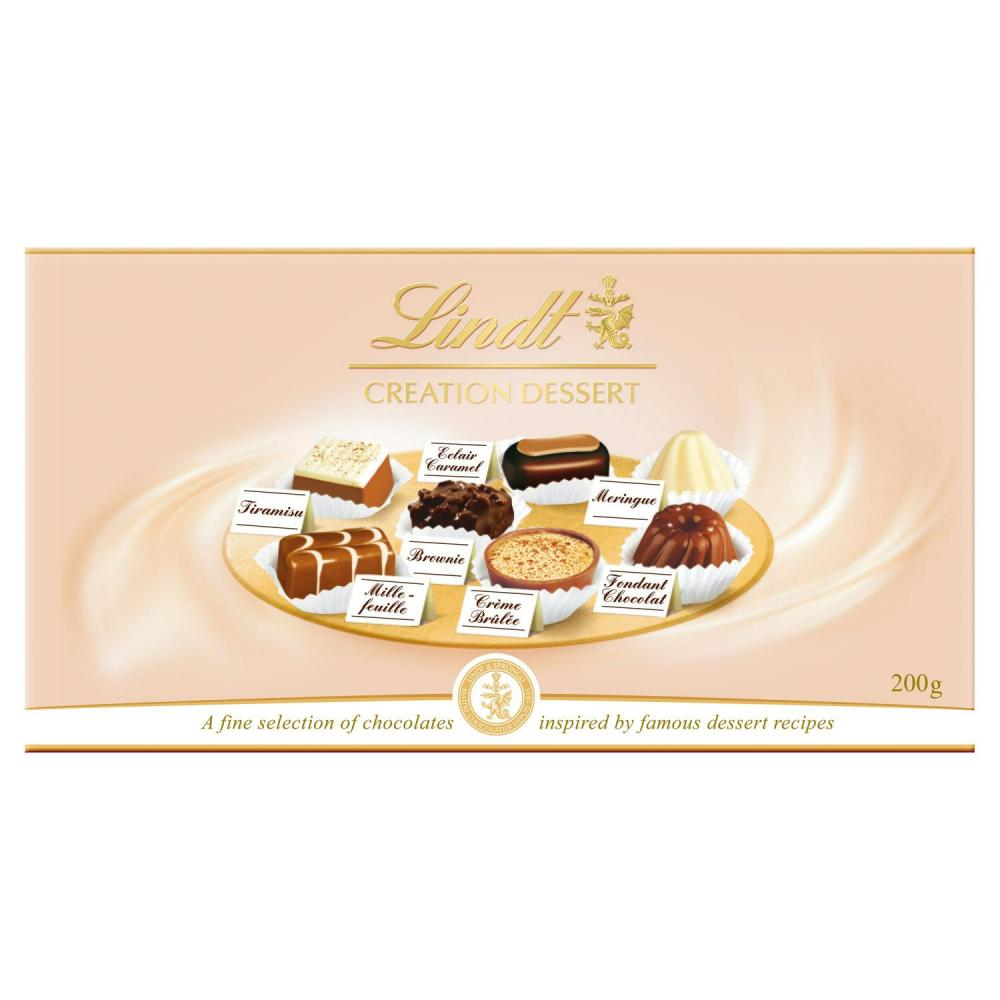 Lindt Creation Dessert Ballotin Assorted Chocolate Box 200g