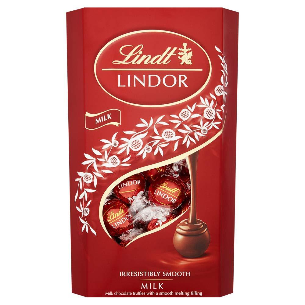 Lindt Lindor Milk Chocolate Truffles 600g Damaged Box