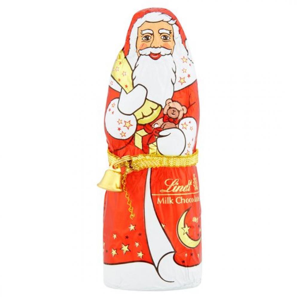 Lindt Milk Chocolate Santa 40g