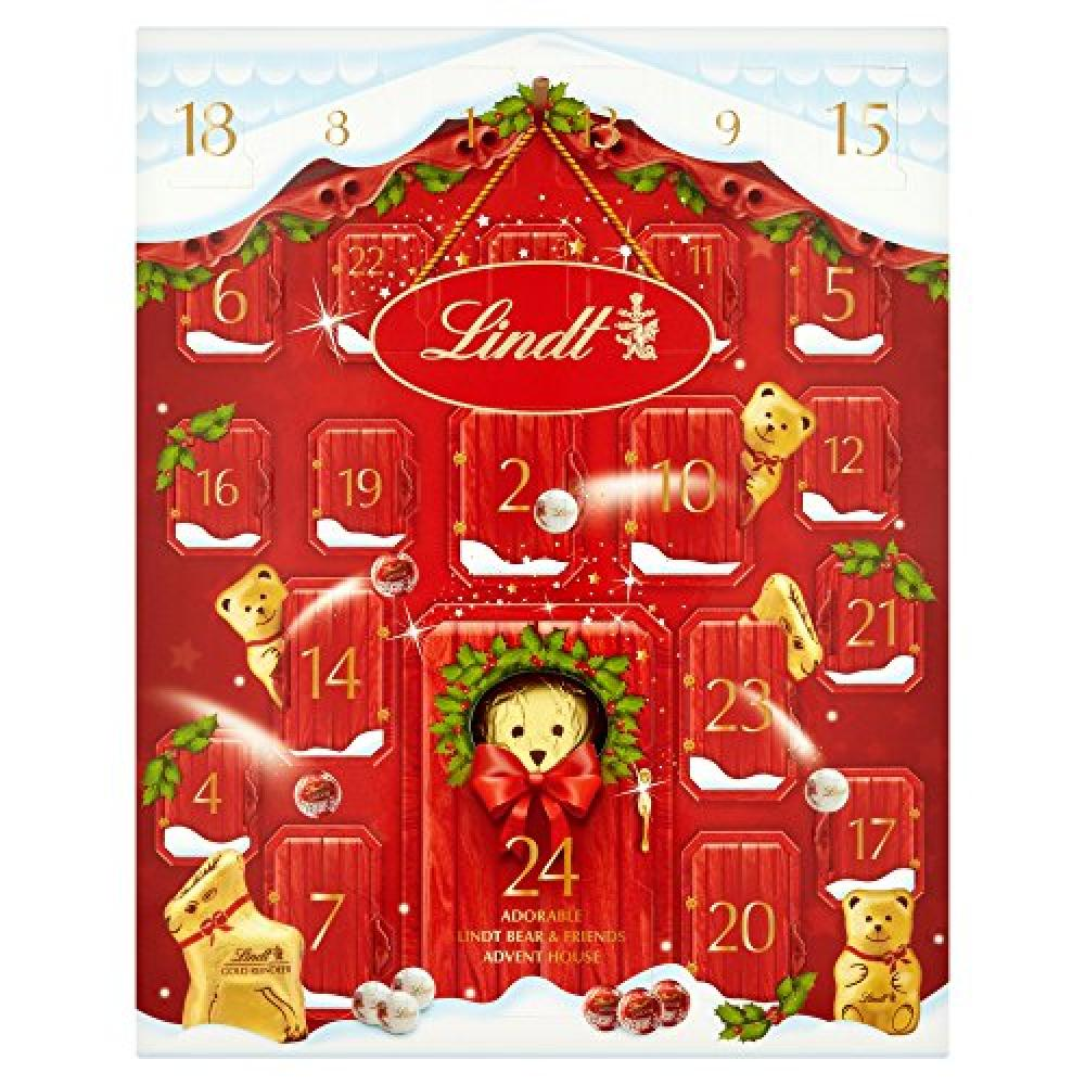 LINDT DEAL  Lindt Teddy Advent Calendar 250g