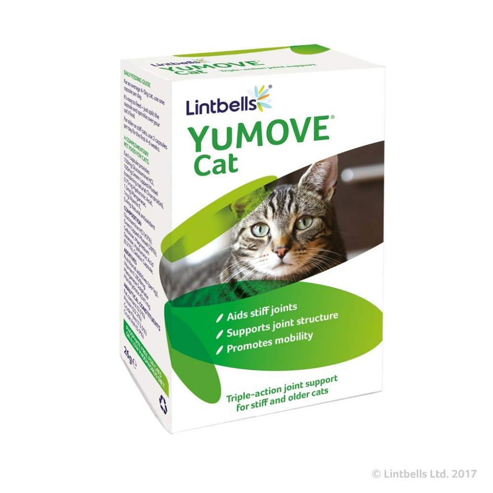 Lintbells YuMove Cat Joint Supplement 60 Capsules 26g