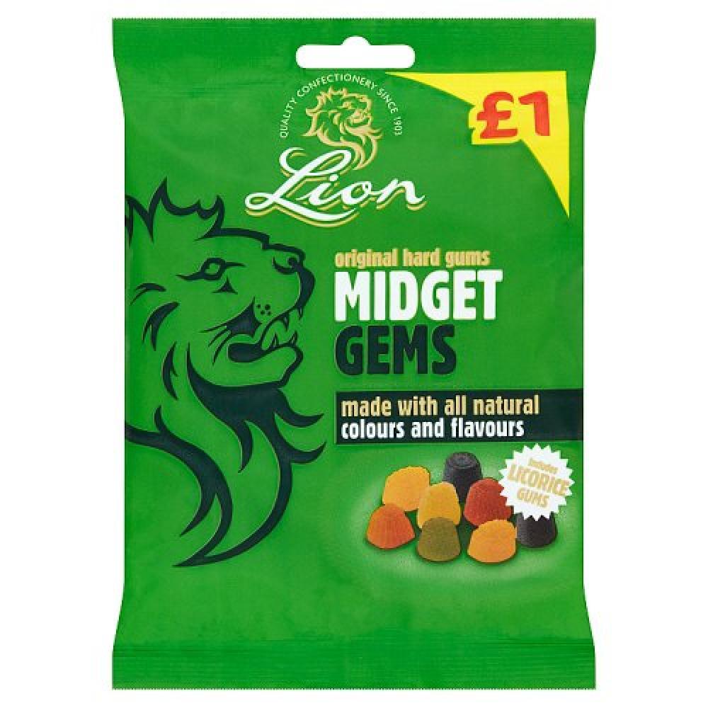 TODAY ONLY  Lion Midget Gems 190g