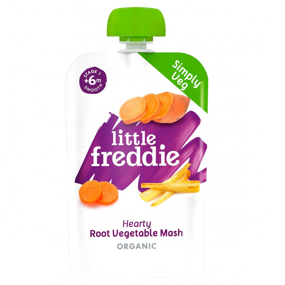 Little Freddie Hearty Root Vegetable Mash 100g
