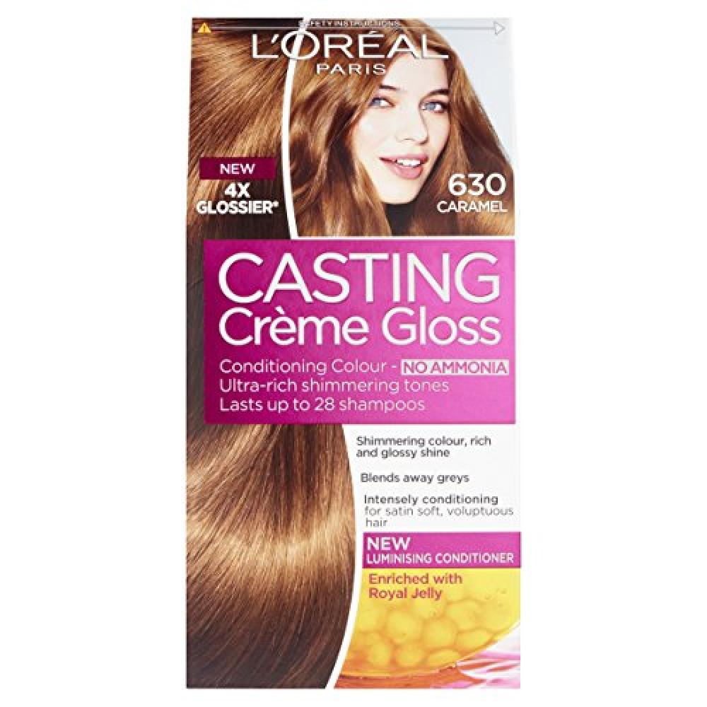 Loreal Casting Creme Gloss 630 Caramel Light Brown Semi Permanent