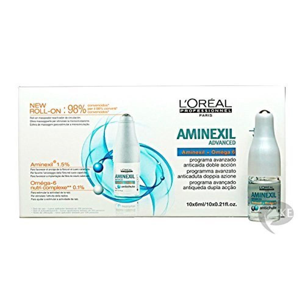 Loreal Expert Serie Aminexil Advanced Anti Thinning Hair Programme 10x6ml