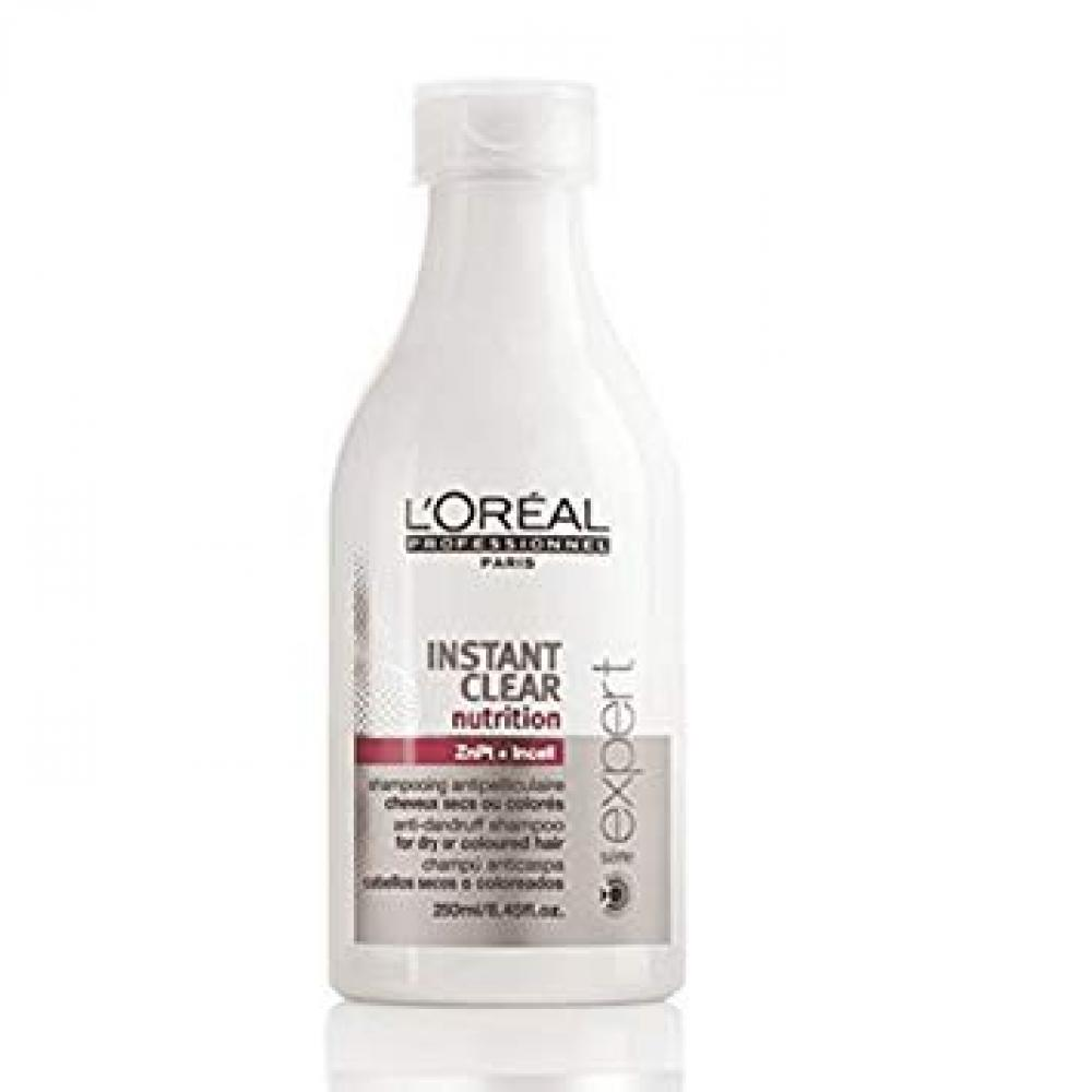 SUMMER SALE  Loreal INSTANT CLEAR shampoo nutrition dry to colored hair 250ml