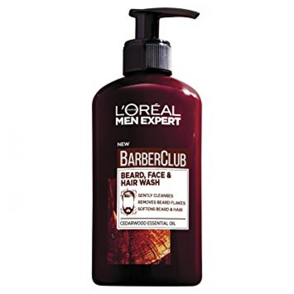 Loreal Men Expert Barber Club 3-in-1 BeardHair and Face Wash 200ml