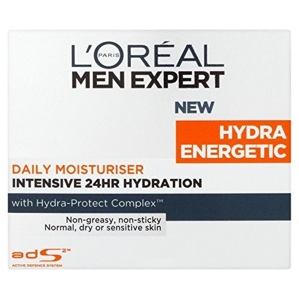 Loreal Men Expert Hydra Energetic Daily Moisturiser 50 ml Damaged Box