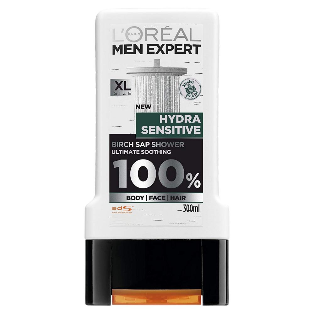 Loreal Men Expert Hydra Sensitive Shower Gel 300ml
