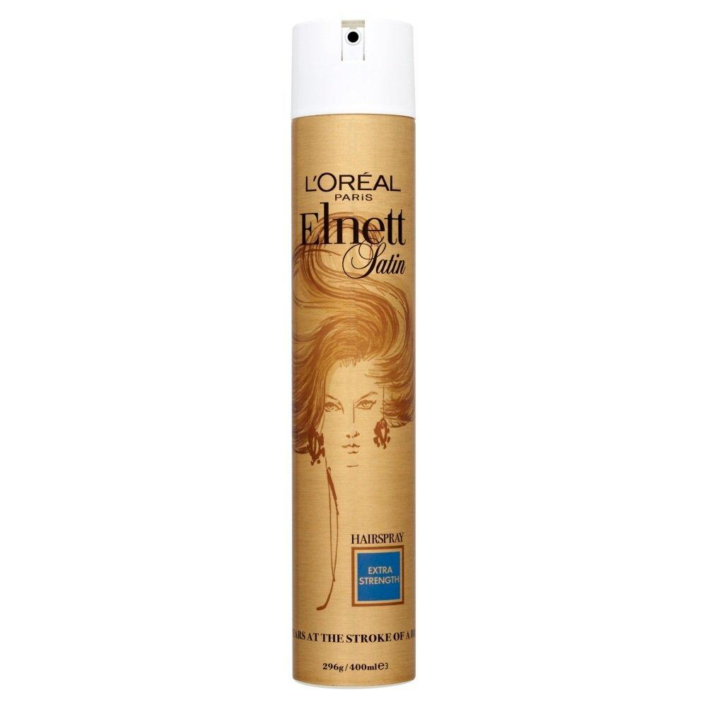 Loreal Paris Elnett Heat Protect Straight Hairspray 400ml