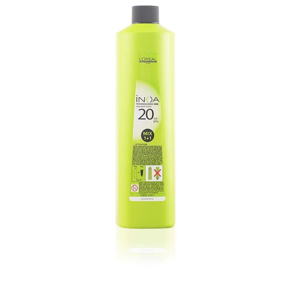 Loreal Paris Inoa Permanent Hair Colour with 6 Percent Oxidant 1000 ml