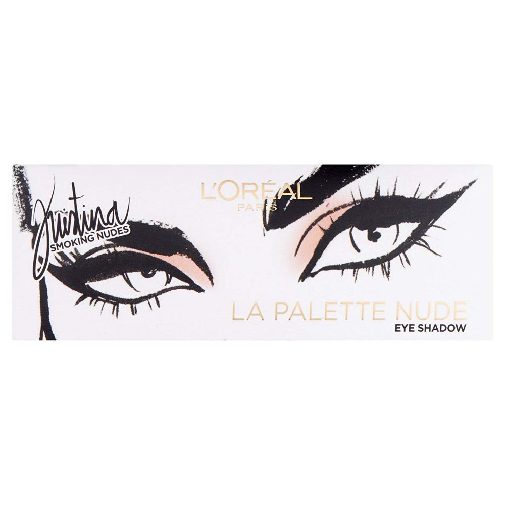 Loreal Paris Kristina Bazan Eyeshadow Nude Palette 7g