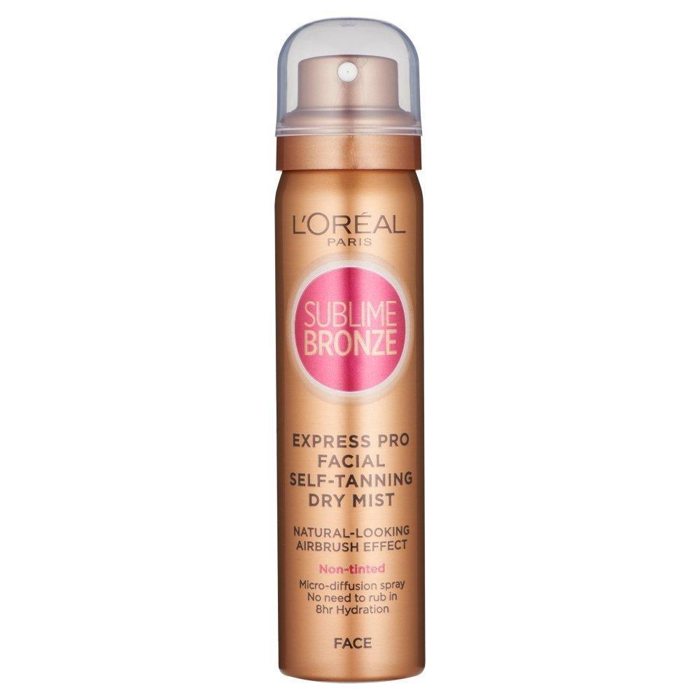 Loreal Paris Sublime Bronze Express Mist Self-Tanning Spray Face 75ml