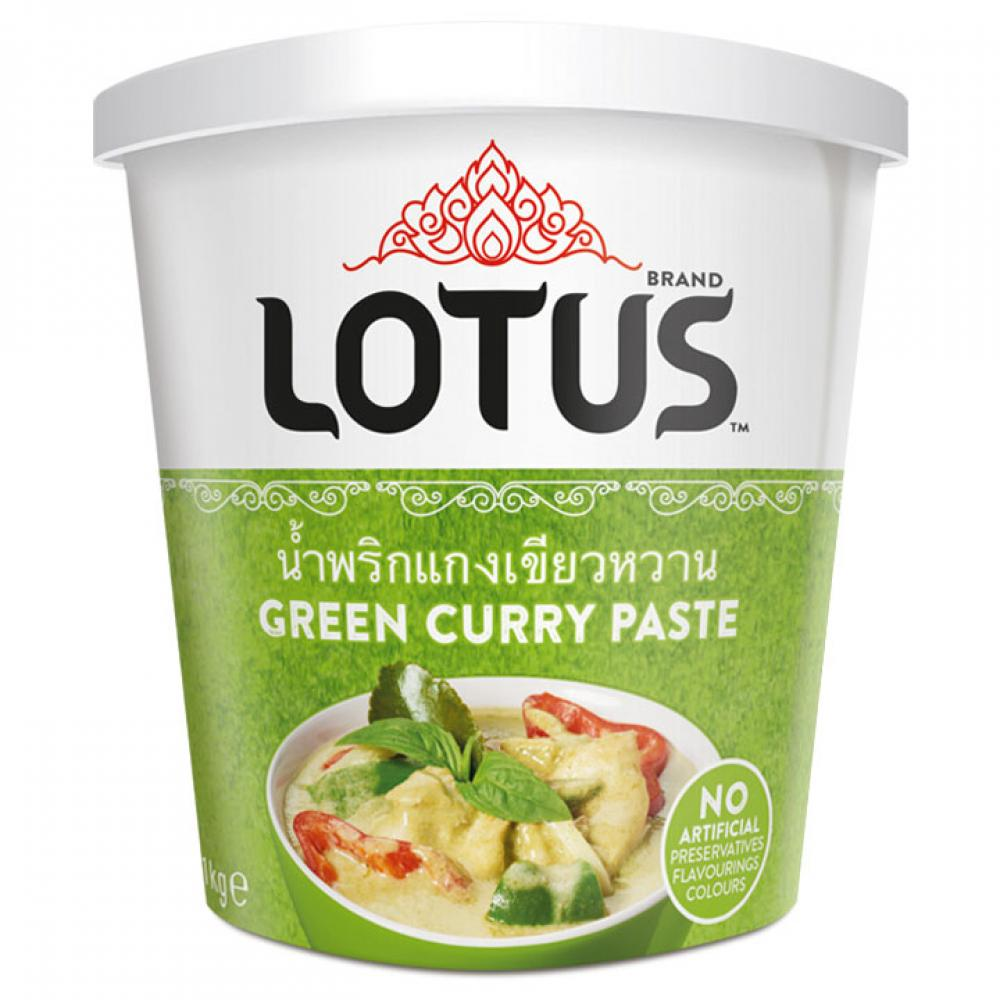 Lotus Green Curry Paste 400g