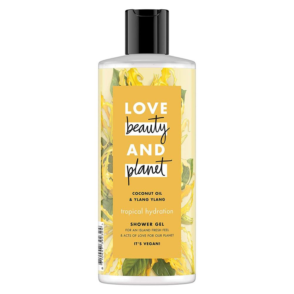 Love Beauty and Planet Coconut Oil and Ylang Ylang Tropical Hydration Shower Gel 500ml