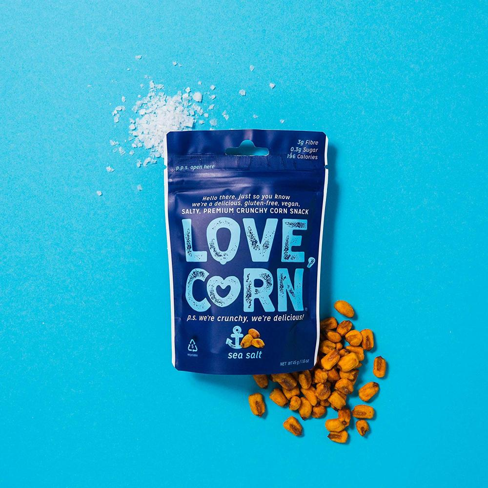 Love Corn Crunchy Corn Sea Salt 45g