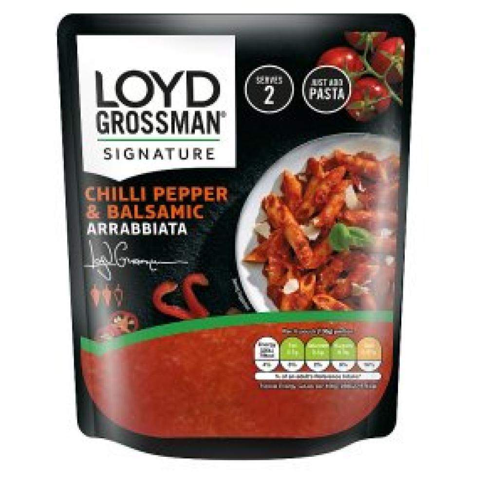 Loyd Grossman Chilli Pepper and Balsamic Arrabbiata 275g
