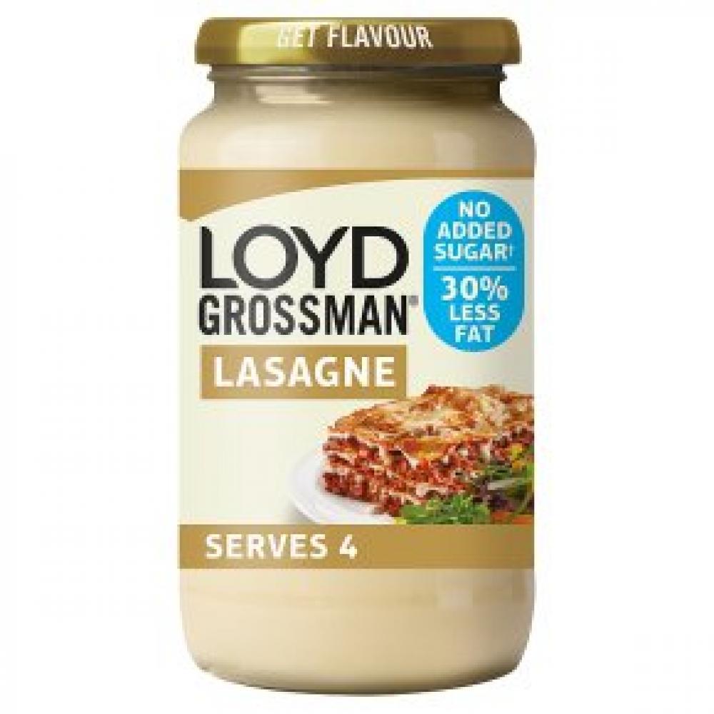 Loyd Grossman Lasagne Sauce Less Fat 440g