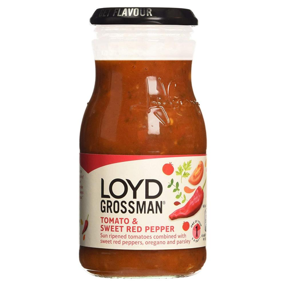 Loyd Grossman Tomato and Sweet Red Pepper Sauce 350g