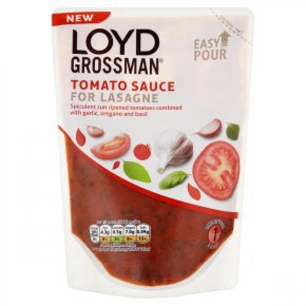 Loyd Grossman Tomato Sauce For Lasagne 380g