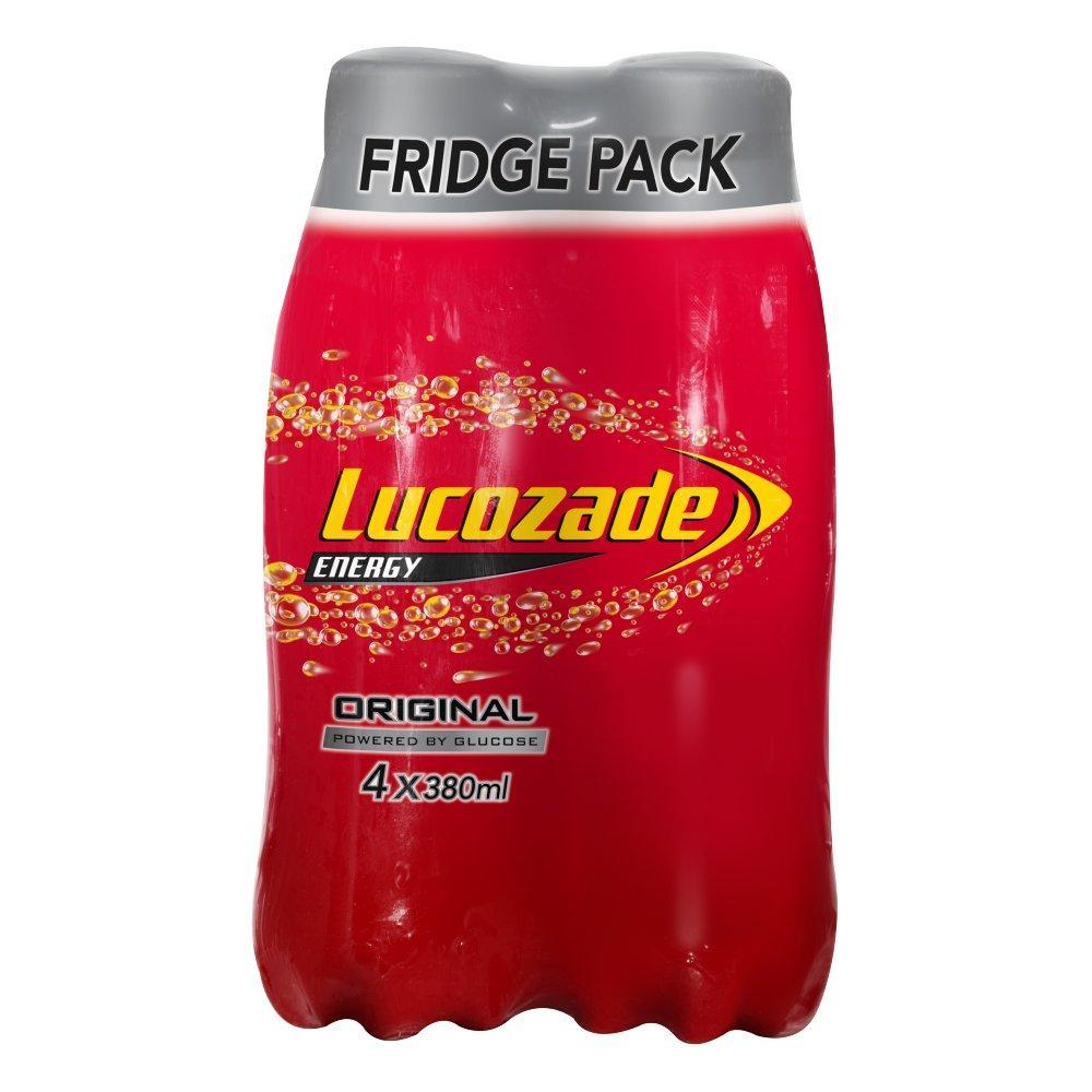 SALE  Lucozade Energy Original 4 x 380ml