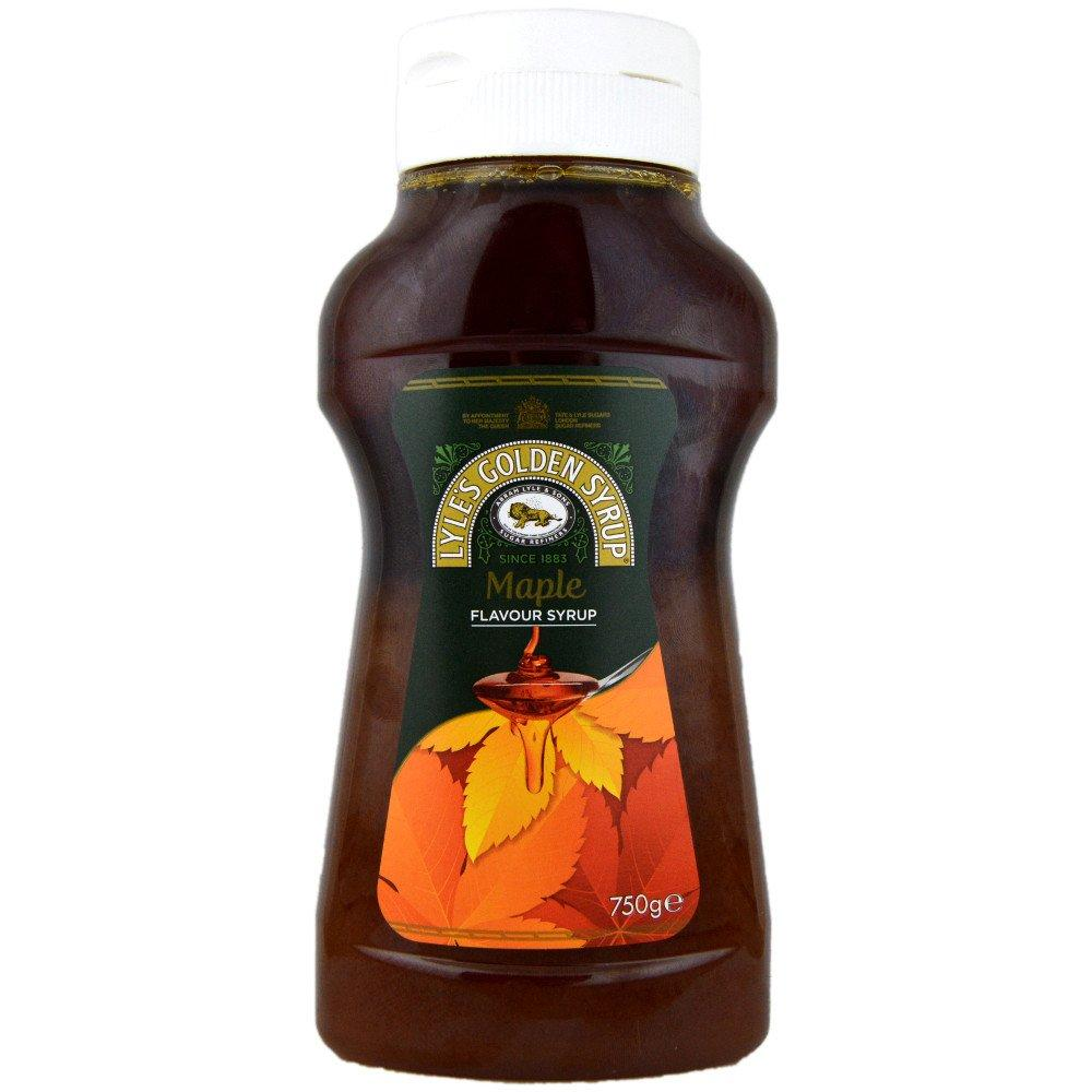 Lyles Maple Flavour Syrup 750g