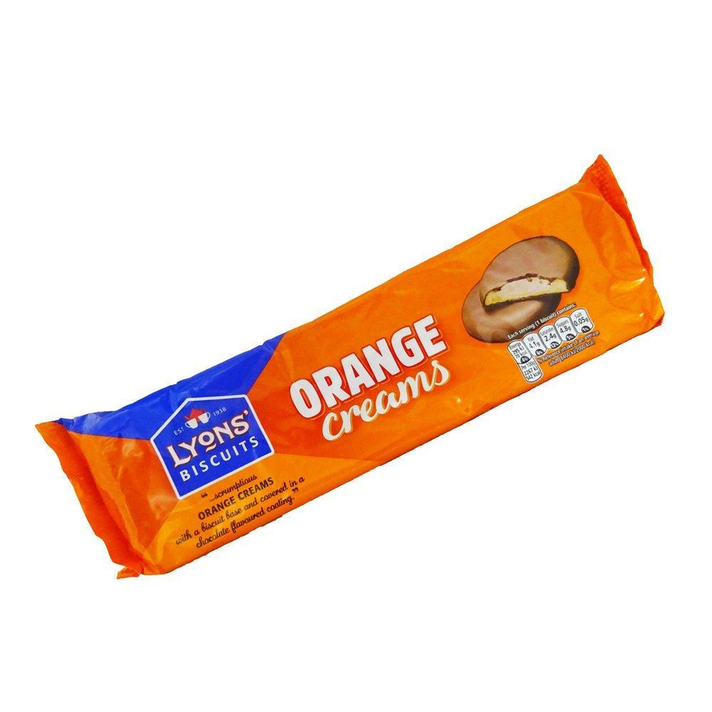 Lyons Orange Creams 104g