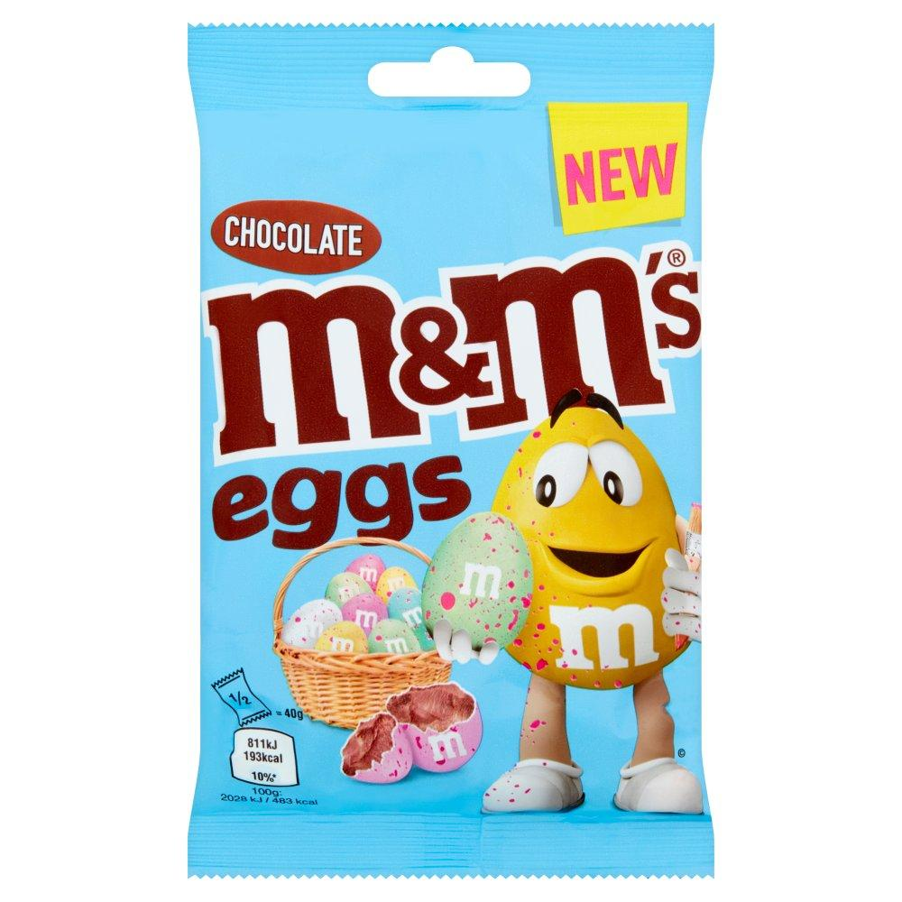 M and Ms Chocolate Eggs 80g