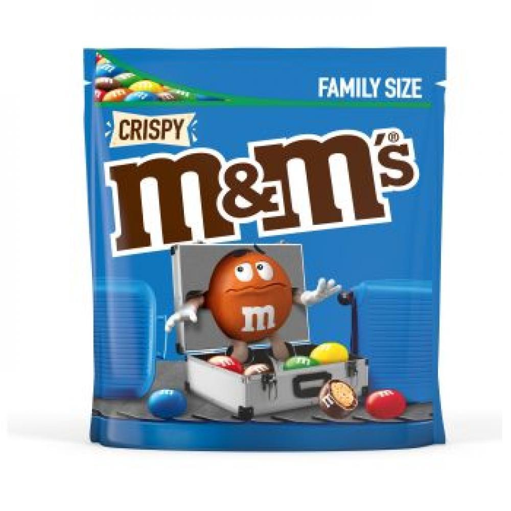 M and Ms Crispy 340g