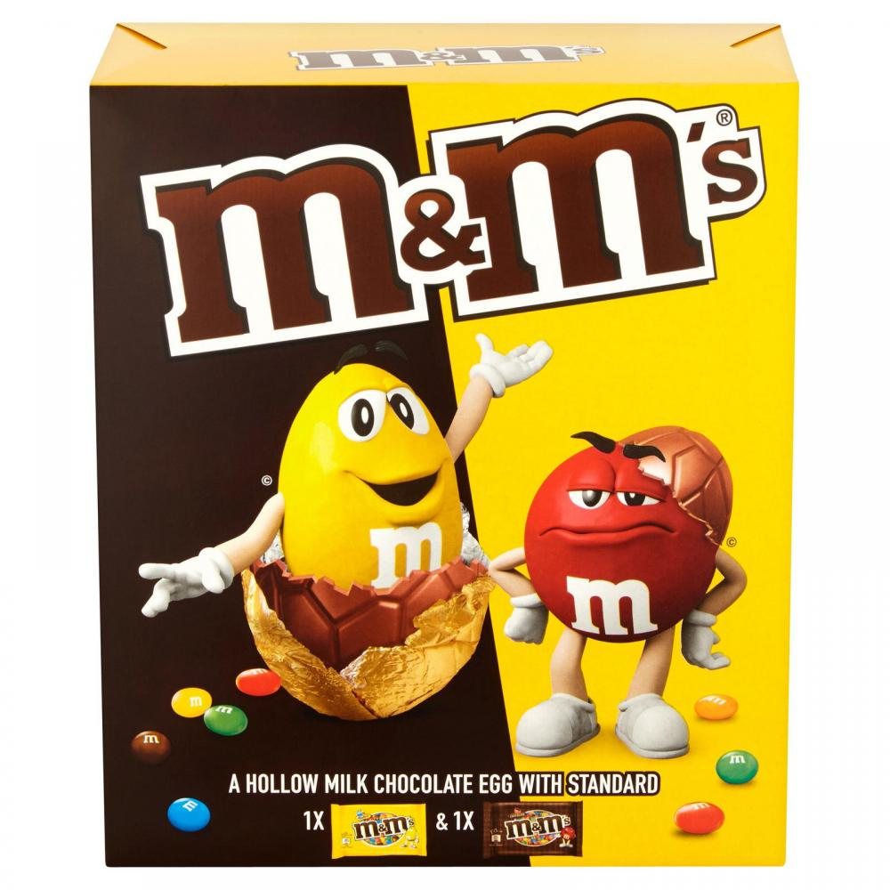 M and Ms Hollow Milk Chocolate Egg 268g
