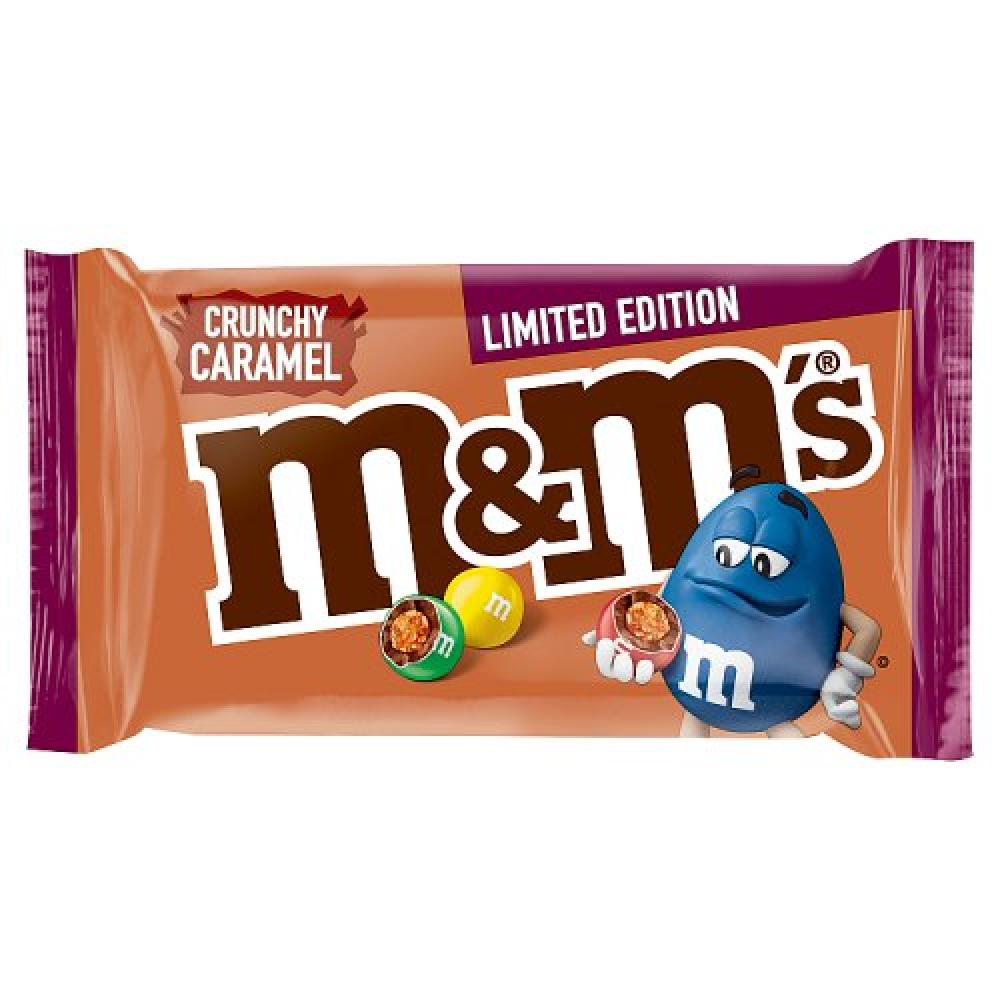 M and Ms Limited Edition Crunchy Caramel 36g
