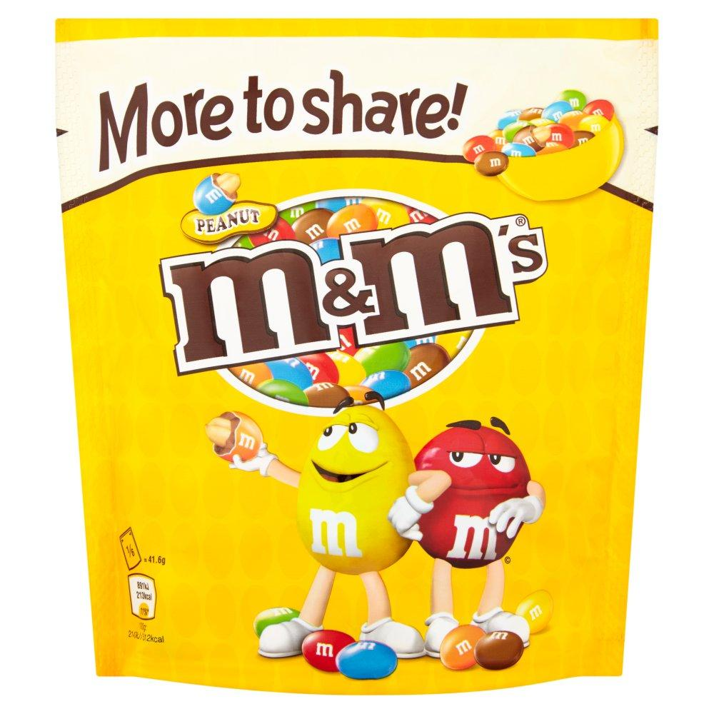 M and Ms Peanut 250g