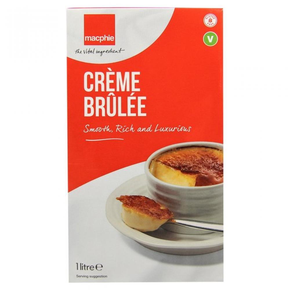 SALE  Macphie Creme Brulee 1 Litre