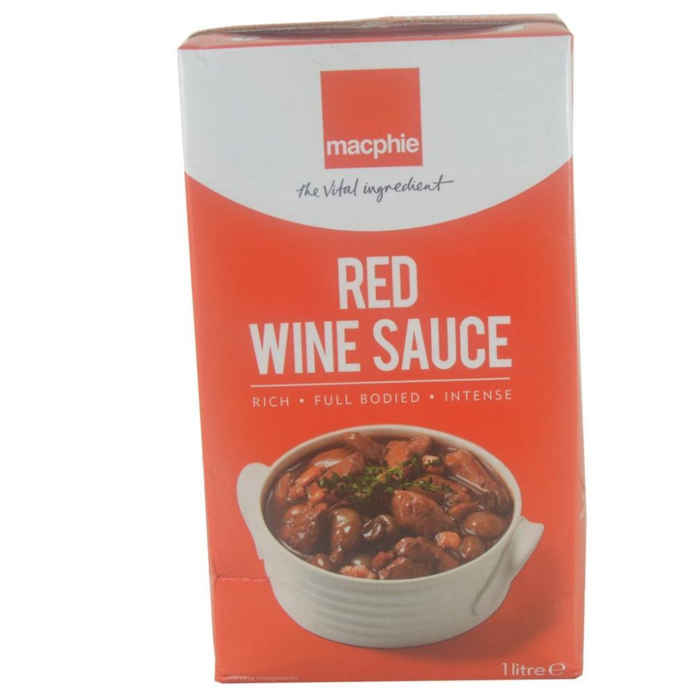 SALE  Macphie Red Wine Sauce 1 Litre