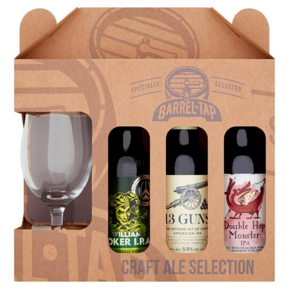 WEEKLY DEAL  Mad About Craft Ale Selection With Chalice