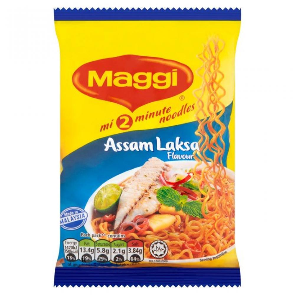 Maggi Assam Laksa Flavour Noodles 78g