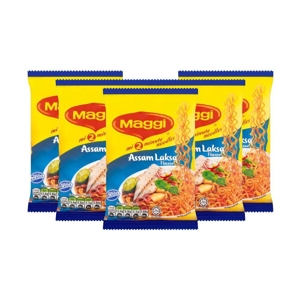 Maggi Assam Laksa Flavour Noodles 78g x 5