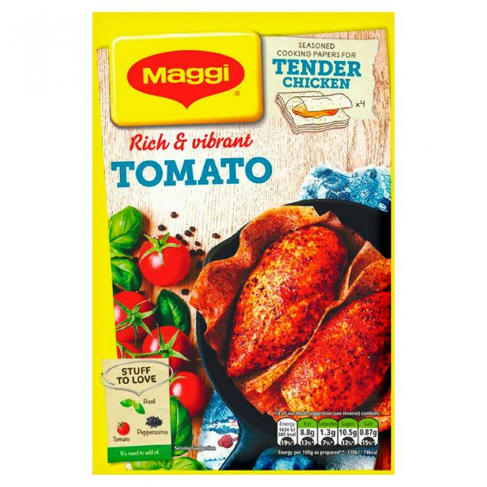 Maggi So Tender Mediterranean Tomato Chicken Recipe Mix 24g