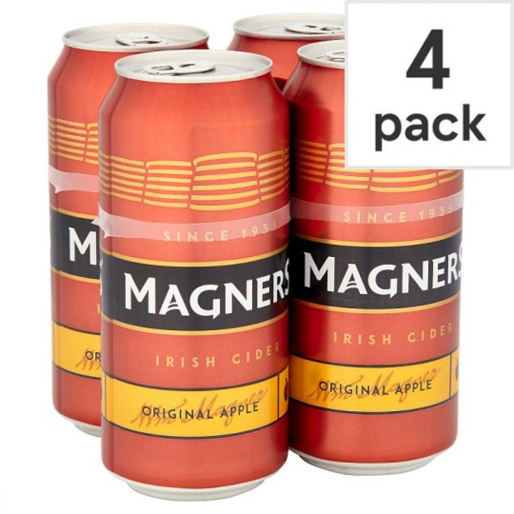 Magners Original Irish Apple Cider 440ml x 4