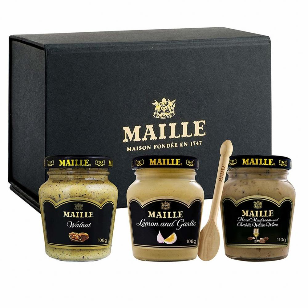 Maille Classic Trio Mustard Giftset 3x