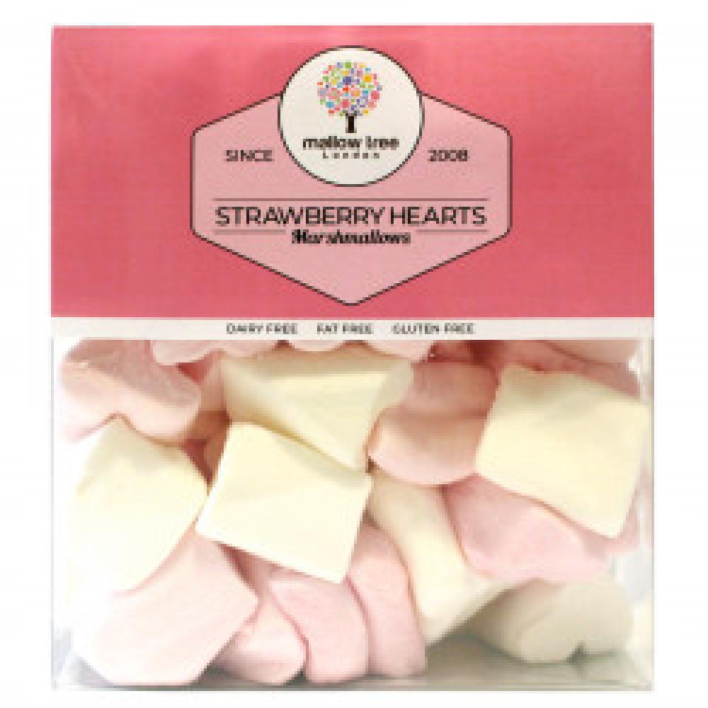Mallow Tree Strawberry Hearts Marshmallows 210g