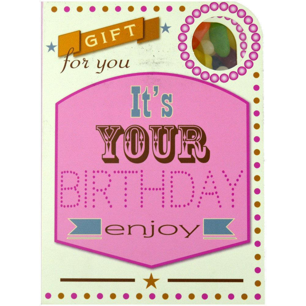 Mallow Tree Sweeting Card 90g Its Your Birthday