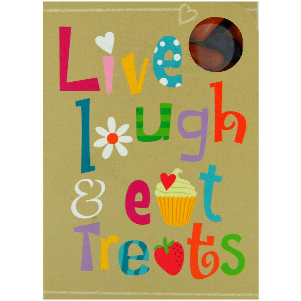 Mallow Tree Sweeting Card 90g Live Laugh Eat Treats