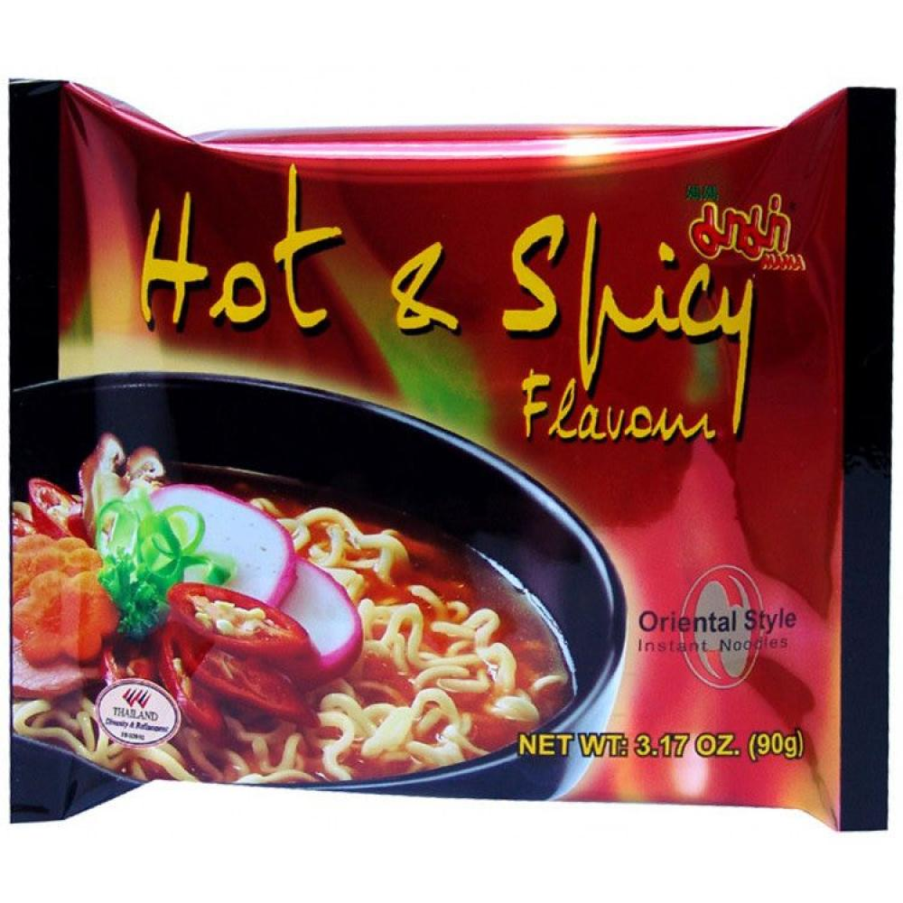 Mama Hot And Spicy Oriental Style Noodles 90g