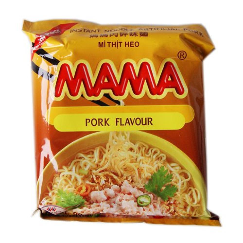 Mama Oriental Style Pork Noodles 60g